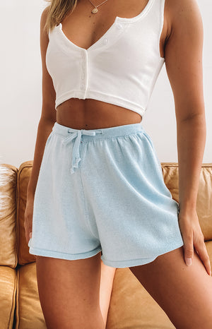 Sigrid Relaxed Shorts Blue