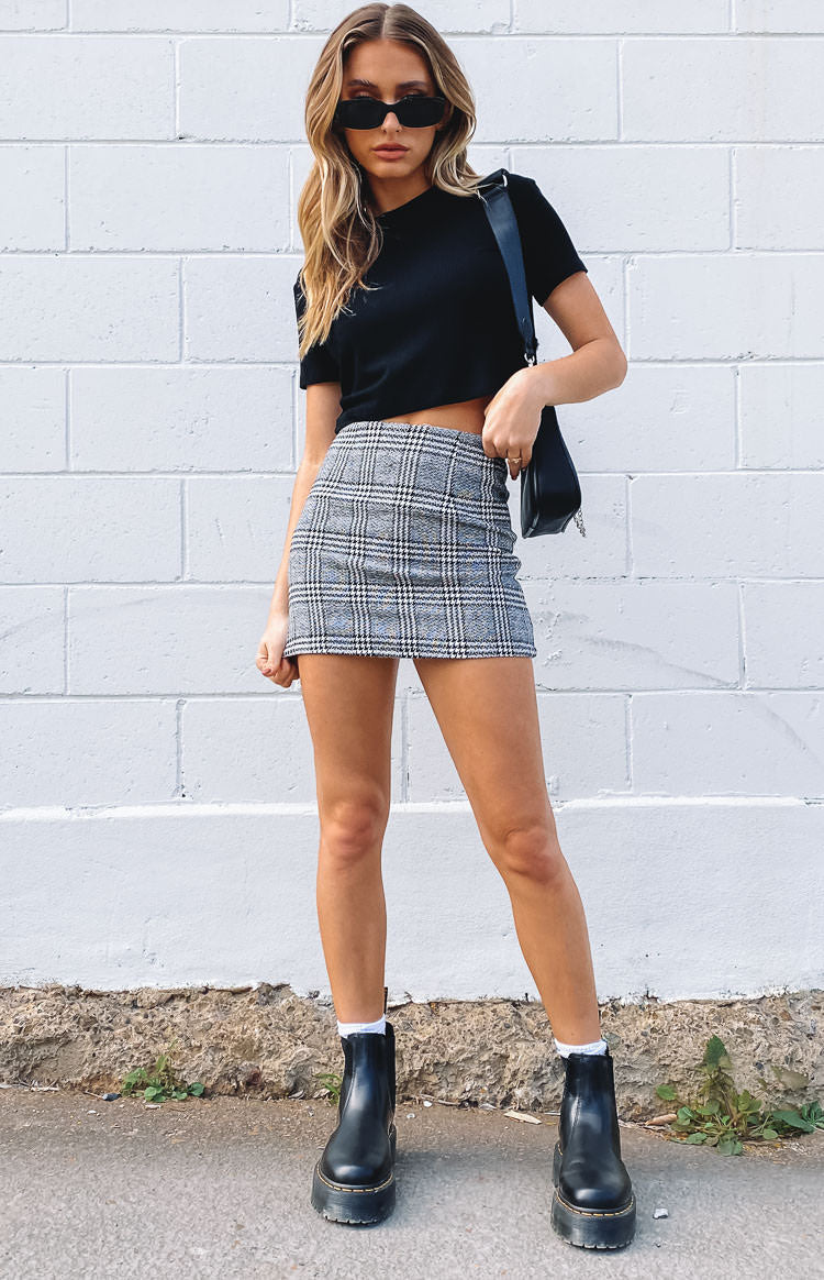 Silver Linings Skirt Check
