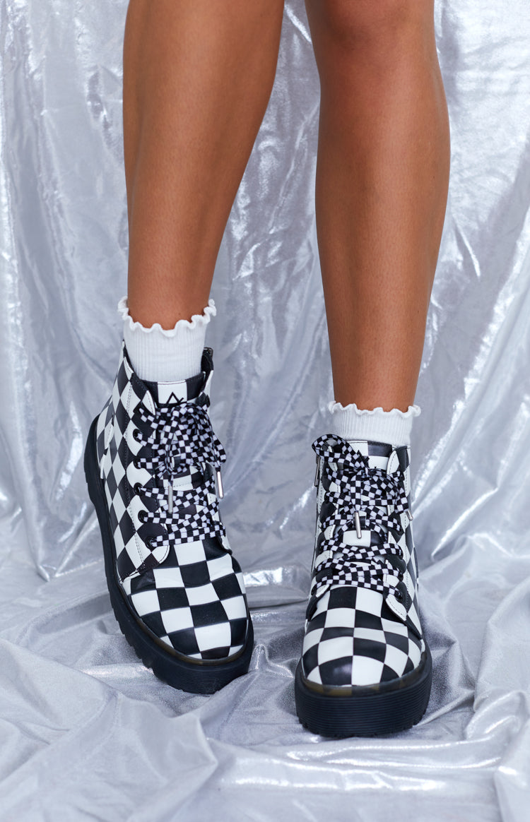 Y.R.U. Slayr Checker Boots