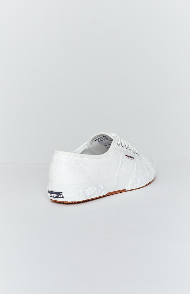Superga 2750 EFGLU Leather Sneaker White 1
