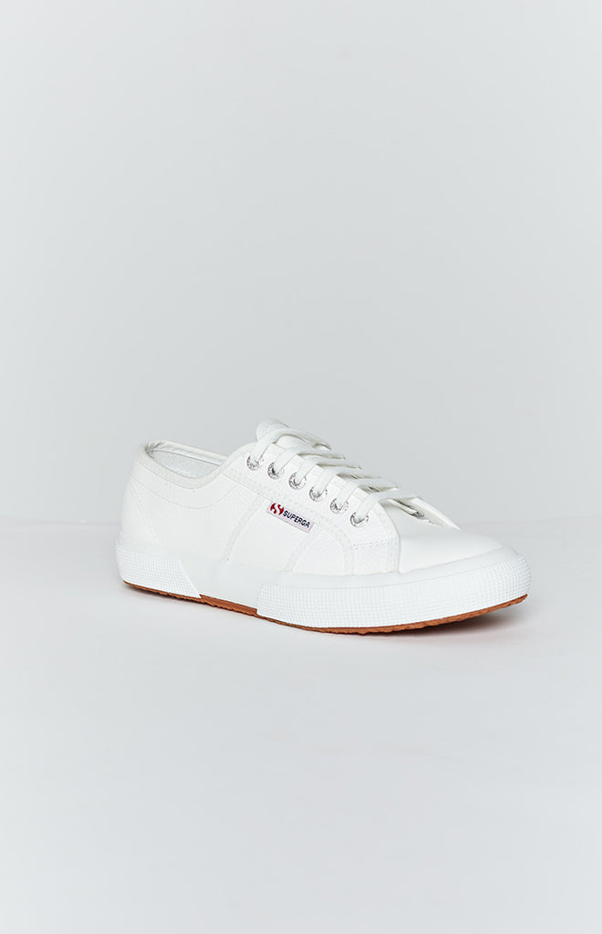 Superga 2750 EFGLU Leather Sneaker White 2