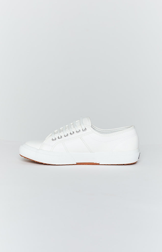 Superga 2750 EFGLU Leather Sneaker White 3