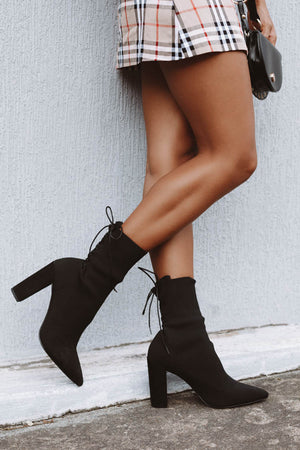 Therapy Blythe Heeled Boots Black