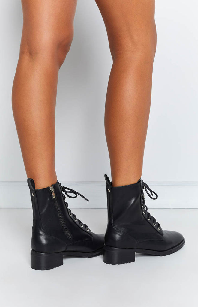 Therapy Ramona Boots Black Smooth 5