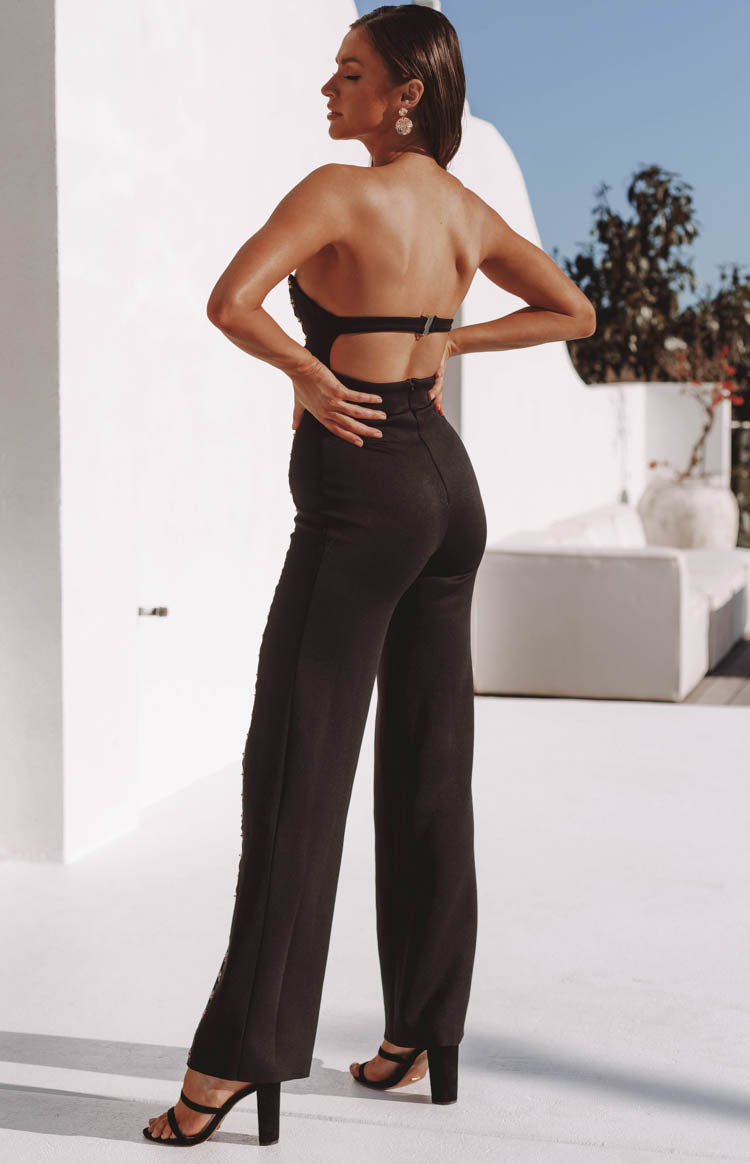 Times Square Jumpsuit Black