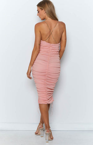Wild Delight Dress Rose