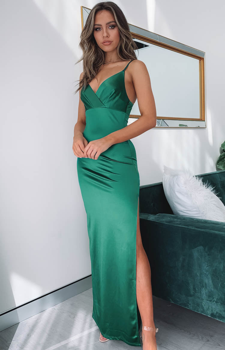 Zelia Formal Dress Emerald