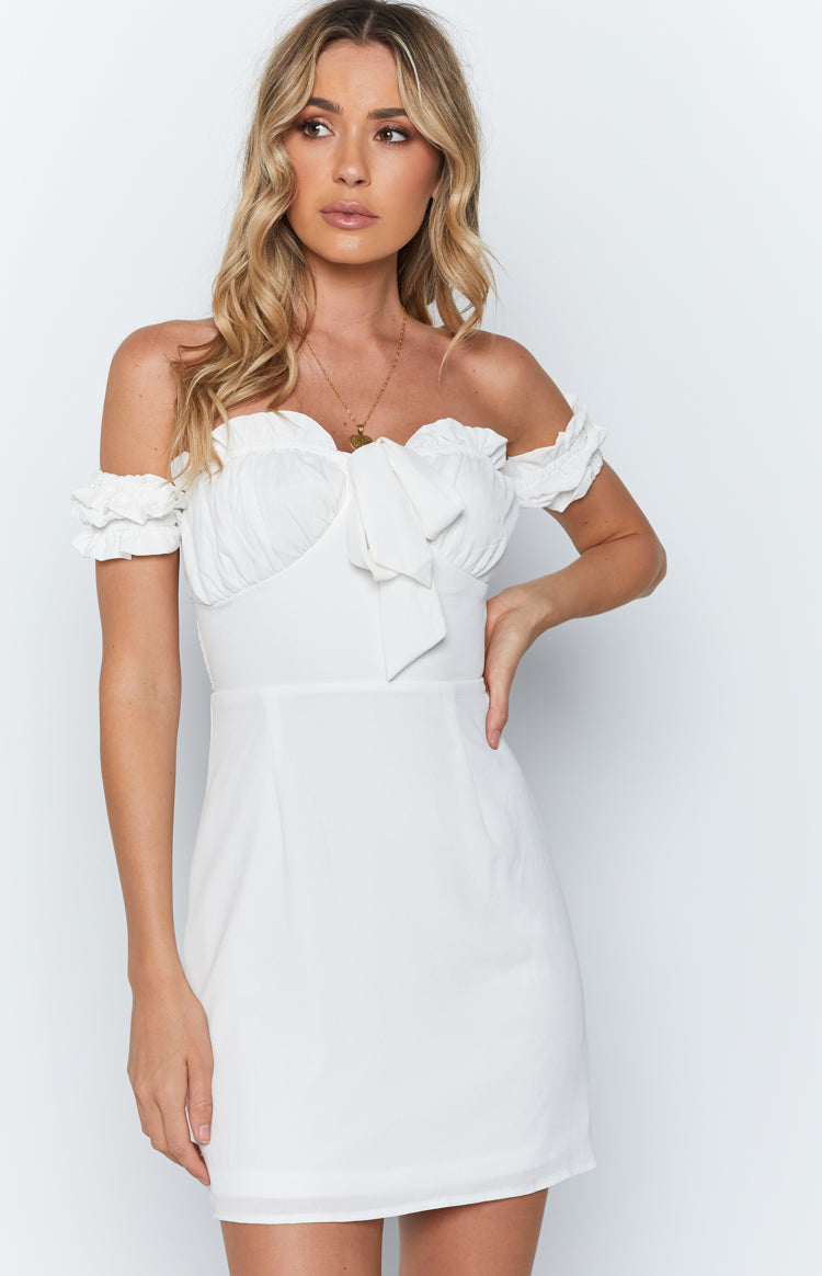 Zuri Dress White