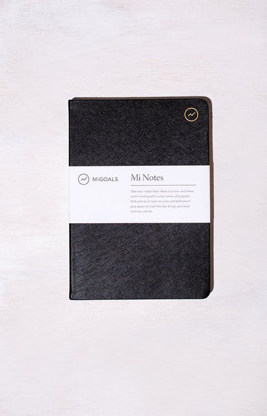 MiGOALS Mi Notes A5 Notebook Black
