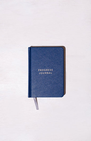 MiGOALS A6 Progress Journal Navy
