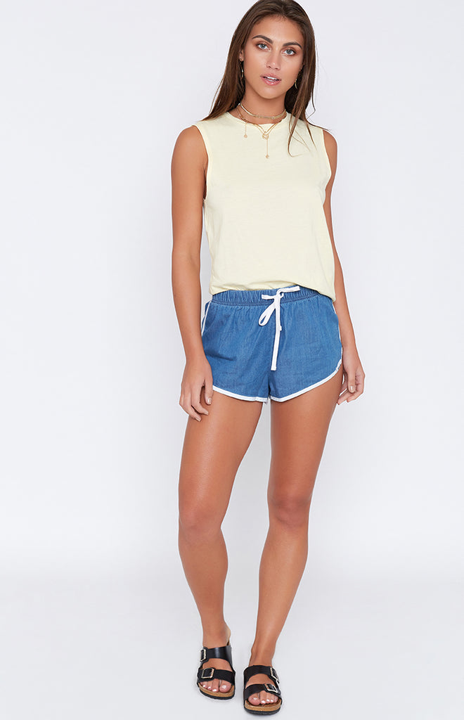 Afends Venus Beach Shorts Vintage Blue