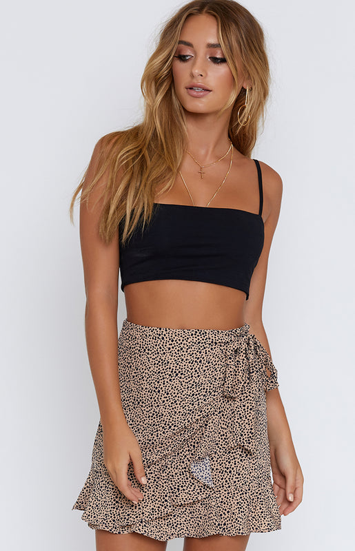 Pachino Wrap Skirt Beige