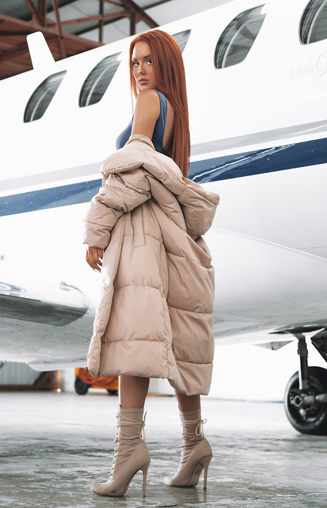 Big Shot Puffer Jacket Nude