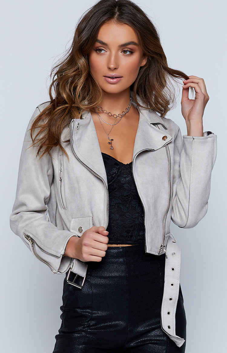 City Dreams Jacket Grey