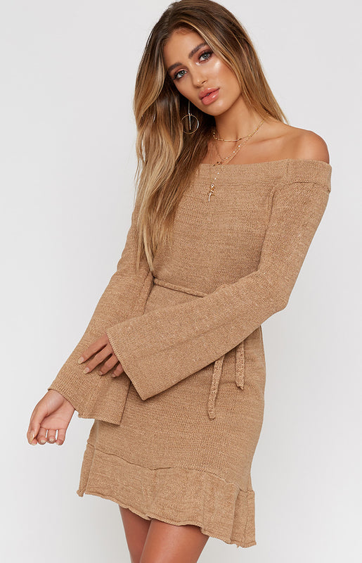Himalayas Dress Beige