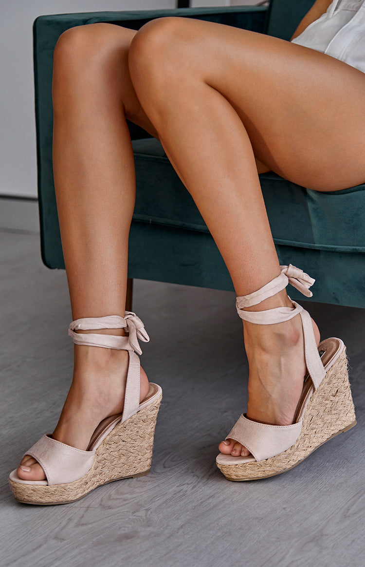 Billini Skyros Wedge Blush