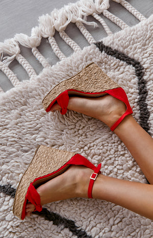 Billini Skala Wedge Red