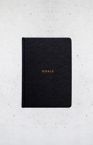 MiGOALS A5 Goals Book Black
