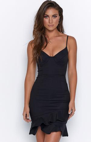 Afresh Dress Black