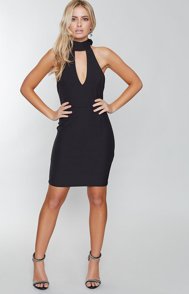 Density Mini Dress Black