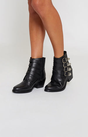 Tony Bianco Frenchy Boots Black Jetta