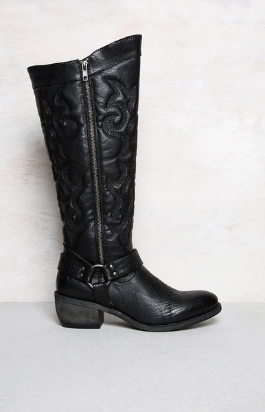 Therapy Opry Boots Black