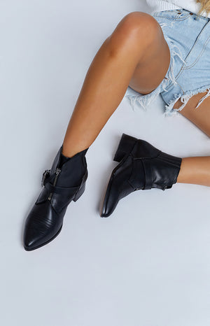 Therapy Dixie Boots Black