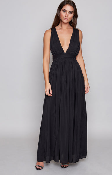 Aurora Maxi Dress Black