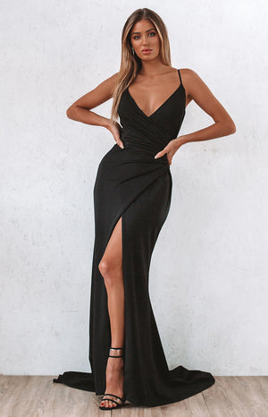 Moonlight Formal Dress Black