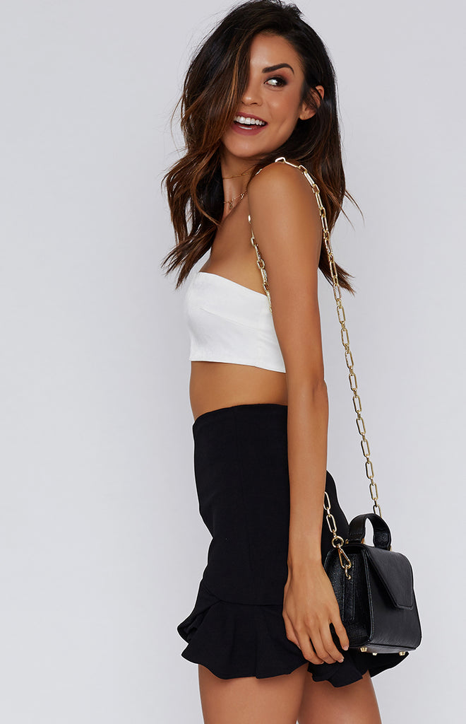 Good Vibes Skirt Black