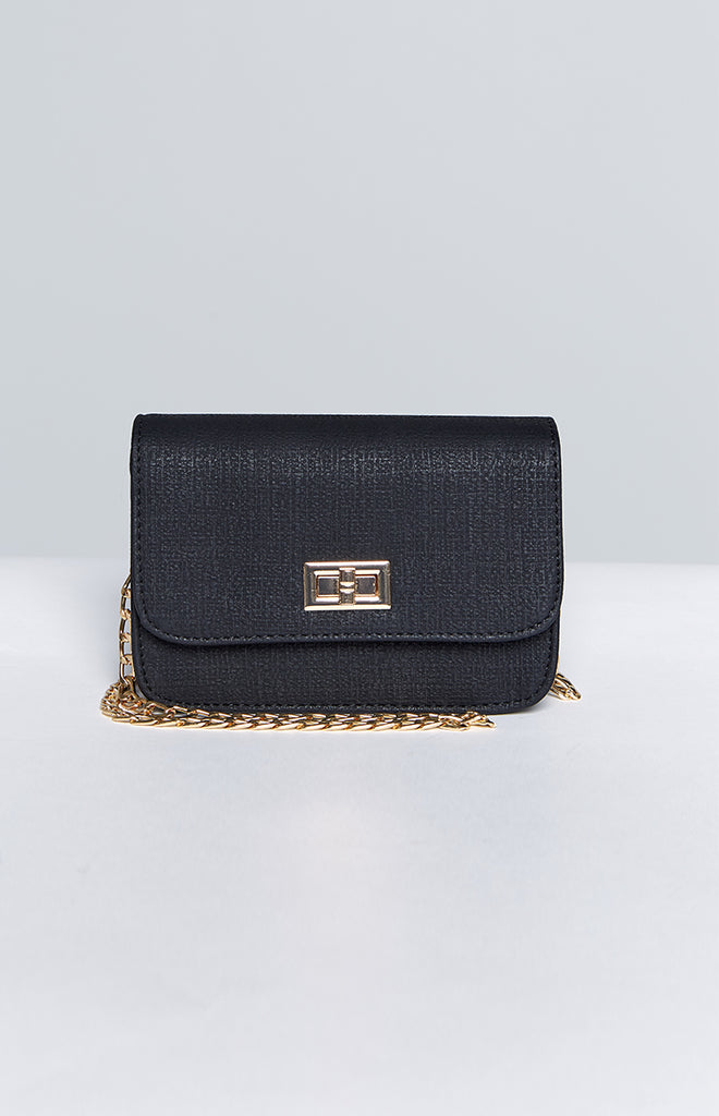 Eclat Allison Chain Bag Black