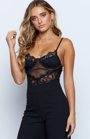 Granada Bodysuit Black