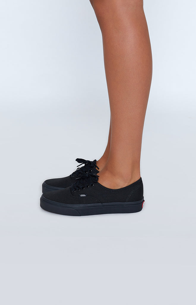 7bf0ff4dc9 Vans Authentic Black Sneakers – Beginning Boutique