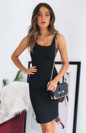 Maddie Dress Black