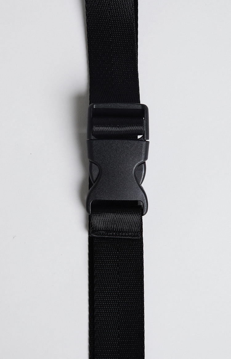 Raider Buckle Belt Black