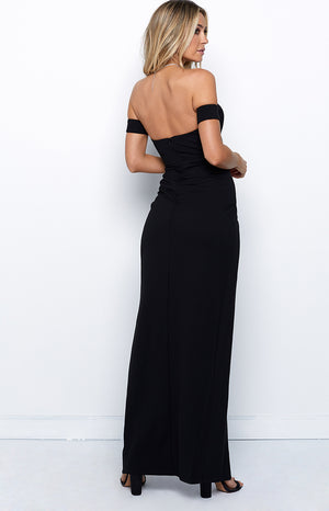 City Lights Maxi Dress Black