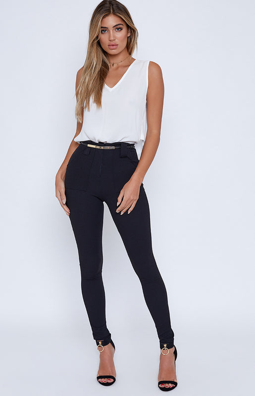 Lottie Pants Black