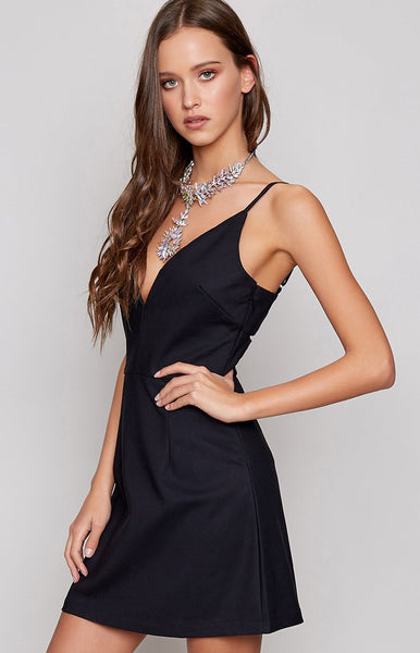 Breaking Dawn Mini Dress Black