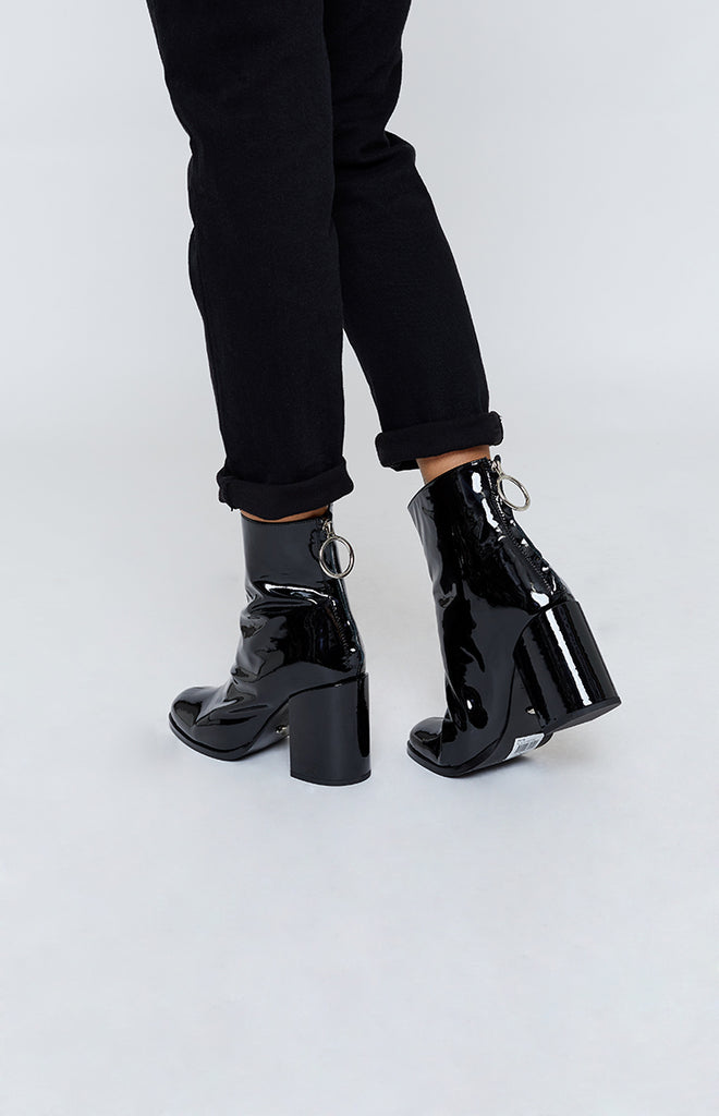 Tony Bianco Faya Boot Black Patent