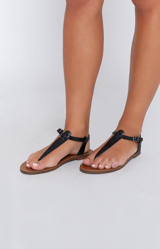 Windsor Smith Bax Sandals Black