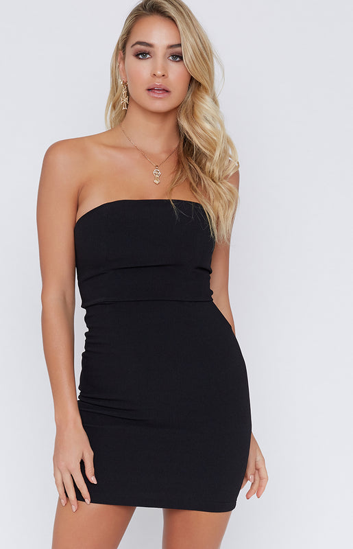 Band Together Dress Black