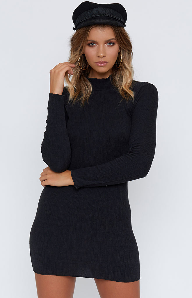 Emma Mini Dress Black