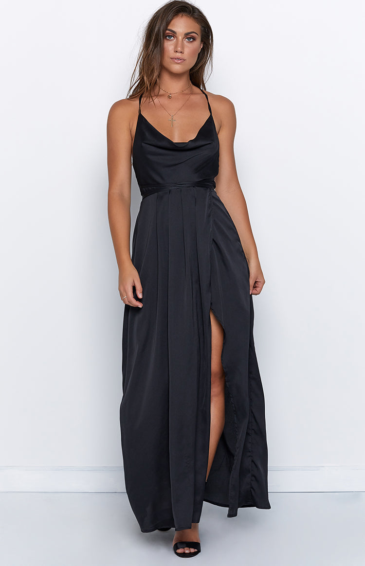 Revive Maxi Dress Black
