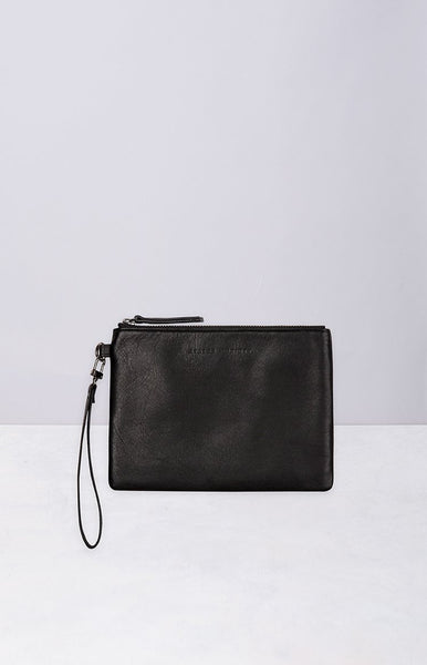 Status Anxiety Fixation Wallet Black