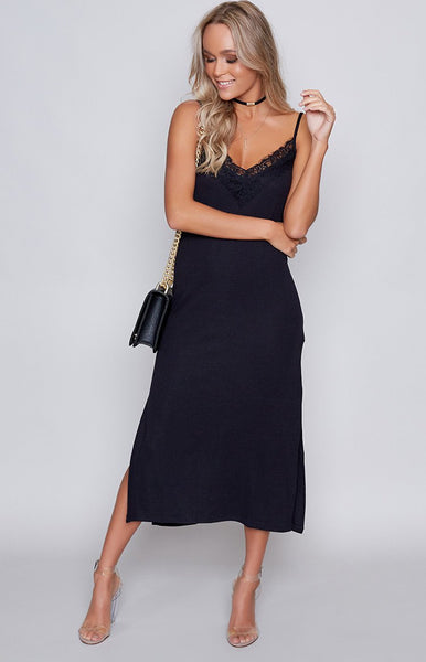 The Fifth Wild Side Dress Black