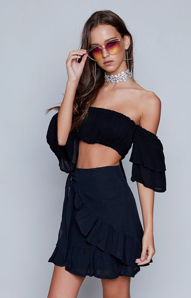 Kellie Skirt Black
