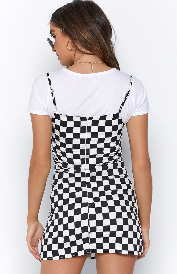 Don't Forget Dress Checkerboard