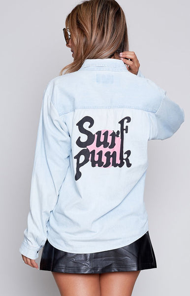 OneTeaspoon Vintage Surf Punk Vintage Shirt