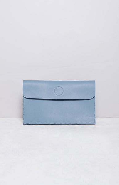 Eclat Marion Envelope Clutch Dusty Blue
