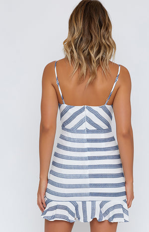 On The Waves Dress White